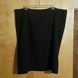 Calvin Klein Black Dress Skirt Sz. 20W